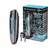 Remington Barttrimmer Herren MB4700 (digitale TouchScreen-Oberfläche, 0,4-18mm Längeneinstellung, Netz-/Lithium Ionen Akkubetrieb, Micro-USB-Ladefunktion inkl.Kabel) Bartschneider Touch Tech