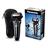 Panasonic Premium Rasierer ES-LV6Q mit 5 Scherelementen, Nass- & Trockenrasierer mit flexiblem 3D-Scherkopf & ausklappbarem Bart-Trimmer